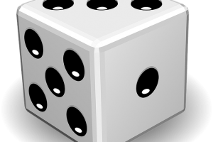 rolling of the dice