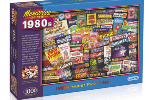 1980s sweet memories jigsaw puzzle