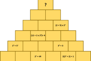 Number pyramid
